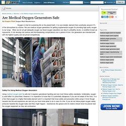Oxygen Generators Oxygen Plant