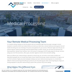 Medical Outsourcing Solutions