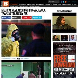 Ebola Transmittable by Air - CIDRAP