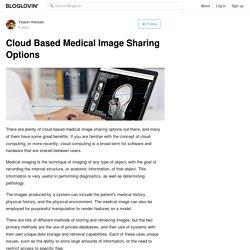 Cloud Based Medical Image Sharing Options
