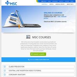 MSC - Medical Simulation Courses Online