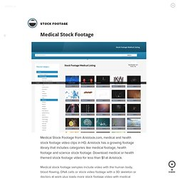 Medical Stock Footage