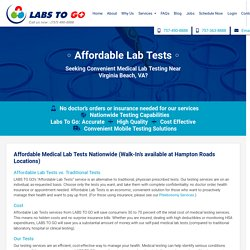 Looking For Test for STD in Virginia