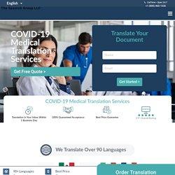 COVID-19 Medical Translation Services