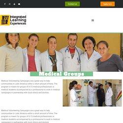 Medical Volunteering Campaigns