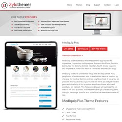 Best Free Medical WordPress Theme design by zylo Themes
