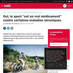 """Oui, le sport """"est un vrai médicament"""" contre certaines maladies chroniques"""