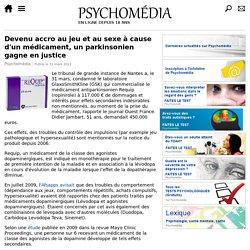 31/11/2011 condamné suite aux effets secondaires du REQUIP