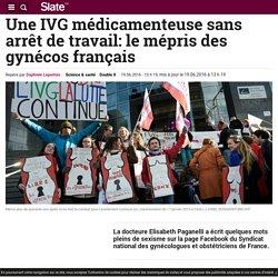 Une IVG médicamenteuse sans arrêt de travail: le mépris des gynécos français