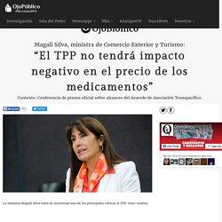 """""""El TPP no tendrá impacto negativo en el precio de los medicamentos"""" - OjoBiónico"""