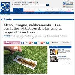 Alcool, drogue, médicaments… Les conduites addictives de plus en plus fréquentes au travail