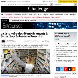 La liste noire des 68 médicaments à éviter d'après la revue Prescrire