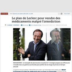 Le plan de Leclerc pour vendre des médicaments malgré l'interdiction