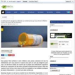 6 médicaments dangereux délivrés sur ordonnance qui vous feront réfléchir à deux fois avant de les prendre !