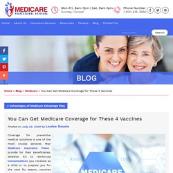 You Can Get Medicare Coverage for These 4 Vaccines