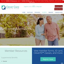 Medicare Health Members - Clever Care Health Plan