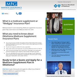 Mavros Insurance Group LLC /Medigap insurance experts in Oklahoma City