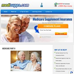 Medicare Part G - Why You Should Enroll