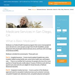 Medicare Services Offered in San Diego, CA