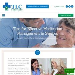 Tips for Effective Medication Management in Seniors