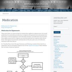 Hyperacusis Focus