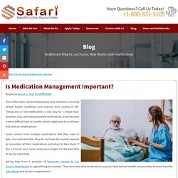 Is Medication Management Important?