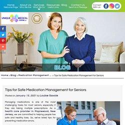Tips for Safe Medication Management for Seniors