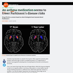 An asthma medication seems to lower Parkinson's disease risks
