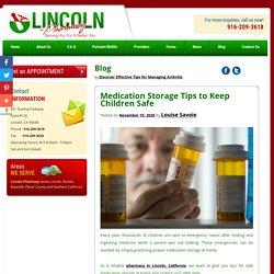 Medication Storage Tips to Keep Children Safe