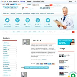 Order Oxycodone Online