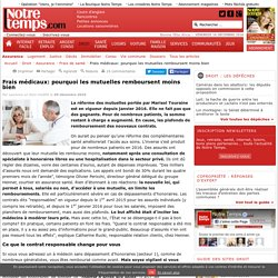 Frais médicaux: pourquoi les mutuelles remboursent moins bien - 09/03/16