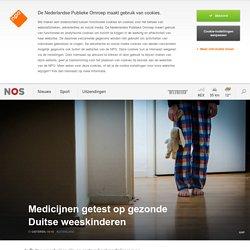 Medicijnen getest op gezonde Duitse weeskinderen