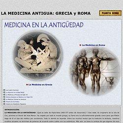 La Medicina en la Antiguedad: Los Medicos en Grecia y Roma Antigua