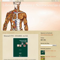 Libros de Medicina y Neurociencias en general: Manual CTO - ENARM. 1ra Ed.
