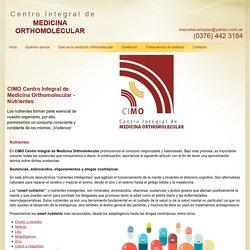 Medicina orthomolecular Posadas - CIMO Centro Integral de Medicina Orthomolecular