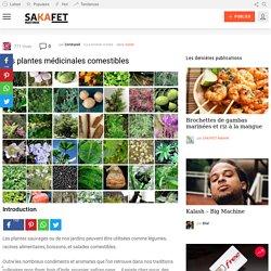 Les plantes médicinales comestibles