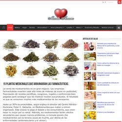 15 plantas medicinales que arruinarían las farmacéuticas - Mundoamores