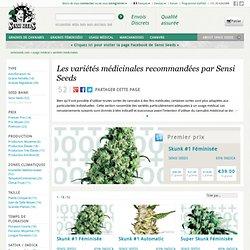 Les variétés médicinales recommandées par Sensi Seeds