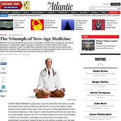 The Triumph of New-Age Medicine - David H. Freedman
