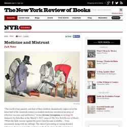 Medicine and Mistrust by Zach Maher