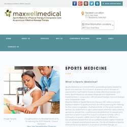 Sports Medicine Therapy NYC