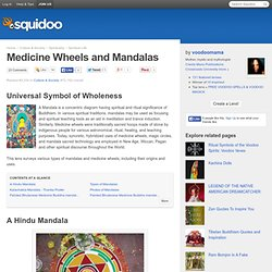 Medicine Wheels and Mandalas