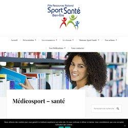 Médicosport – santé – Pôle Sport Santé Bien-Être