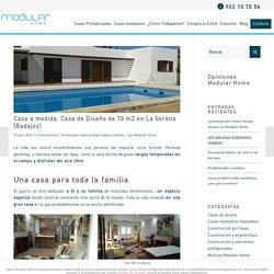 Casa a medida: Casa de Diseño de 70 m2 en La Serena (Badajoz)