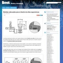 Medidas adecuadas para el diseño de sillas ergonómicas