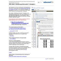 Medien und ICT: Lernplan für educanet2