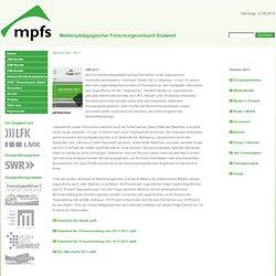 » MPFS - Medienpädagogischer Forschungsverbund Südwest :2011