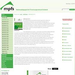 Medienpädagogischer Forschungsverbund Südwest :JIM-Studie 2014