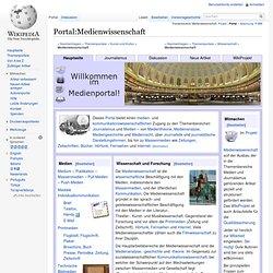 Portal:Medien