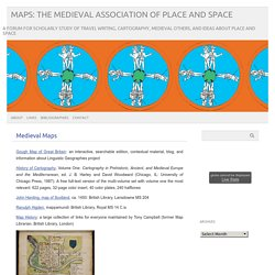 MAPS: The Medieval Association of Place and Space